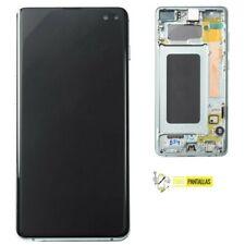 Pantalla Completa LCD + Tactil + Marco Samsung Galaxy S10 Plus G975 plata silver