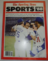 The Sporting News Magazine A Pictorial And Written Report January 1989 122414R