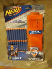 Nerf Gun New N Strike Elite 18 Dart Quick Reload Clip Blaster Box replacement