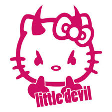 Little Devil Kitty-Petit diable Fun Voiture Autocollant Sticker différentes couleurs