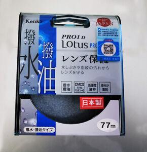 77mm Kenko PRO1D Lotus Protector Filter Lens Protector Original Made in Japan 77