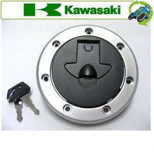 NEW FUEL PETROL GAS CAP 2 KEYS FITS KAWASAKI MOTORCYCLE ZX750N1 (NINJA ZX-7RR)