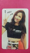 TWICE MINA Official PHOTOCARD Red (Adult) Ver. 1st Album The Story Begins 미나