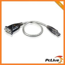Aten USB to RS232 Convert Adapter 35cm DB9 Serial Cable for PC MAC POS UC232A