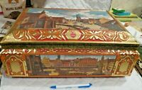 Beautiful Large E. Otto Schmidt 1996 Nurnberg  Germany Candy / Cookie Tin