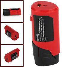 DIY USB Adapter For Milwaukee 49-24-2310 48-59-1201 M12 12V Battery Power Source