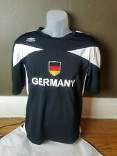 Umbro Germany Men's National Team Jersey Black Football Soccer Men's M