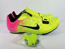 Nike Zoom LJ 4 Long Jump Pole Vault Spike Rio 882016-999 Sz 14 +spikes and bag