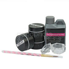 Professional Nail Art Tool Kit Set UV Gel Polish Acrylic liquid Supplies Tool