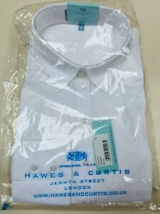 Hawes and Curtis shirt Fitted single cuff UK 16 brand new