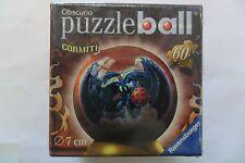 RAVENSBURGER PUZZLEBALL GORMITI OBSCURIO  60 PEZZI  7 CM DIAMETER  ART 09691