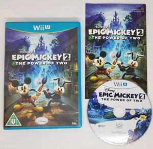 Epic Mickey 2 The Power Of Two Nintendo Wii U GENUINE UK SELLER FAST FREE P&P