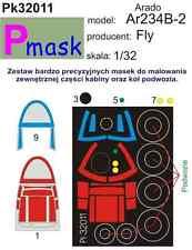 ARADO AR 234 B-2 maschera di pittura a volare KIT #32011 1/32 pmask
