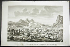 Bataille du Mont Thabor Campagne d'Égypte Napoléon Bonaparte 1815 Bovinet Couché