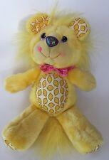 Vintage Hallmark 1989 Kenner Yum Yums Lucky Lemon Lion Yellow Plush