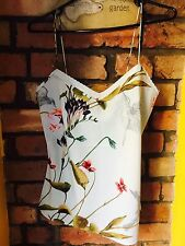 BNWT mint Green Ted Baker print top soft size S Ladies Floral Pastel Cami 1