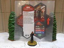 Heroscape Custom Jessica Jones Double Sided Card & Figure w/ Sleeve Marvel