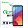 LG G6 amFilm Premium Full Cover Tempered Glass Screen Protector (2 Pack)