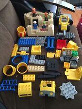 Lego Duplo Set #5653 Stone Quarry Set Crane Cement Truck RARE WITH BOX