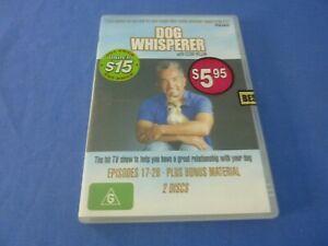 Dog Whisperer with Cesar Millan Season 1 Episodes 17.26  DVD  Region 4
