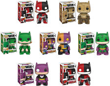 "Funko POP! DC Superheroes ~ BATMAN ""IMPOPSTERS"" 7-FIGURE SET ~ IN STOCK"