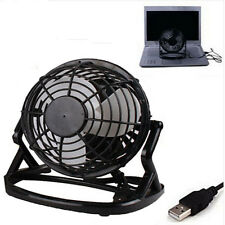 Computer Notebook Laptop Portable Super Mute PC Cooler Desk Mini USB Fan