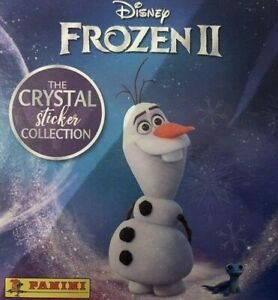 PANINI DISNEY FROZEN 2 CRYSTAL STICKER COLLECTION COMPLETE SET OF 140 STICKERS
