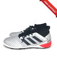 NIB adidas Predator 19.3 TF Turf Men's Soccer Shoes F35629 Silver Size 10