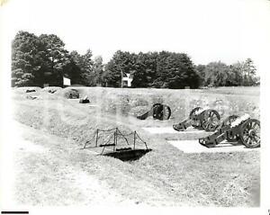 1965 Yorktown battlefield (VA) grand french battery