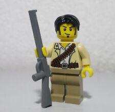 Jake Raines 7325 30091 7305 7327 Pharaoh's Quest LEGO Minifigure Figure