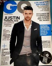 GQ MAGAZINE GQ MEXICO JUSTIN TIMBERLAKE MARZO/MARCH 2014 GQ MEXICAN EDITION
