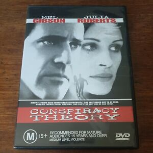 Conspiracy Theory DVD R4 Like New! FREE POST