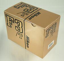 Nikon f3/t f3 f-3 t Titan Titanium negro Black New en Box nuevo embalaje original