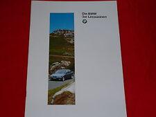 BMW 3er E36 Limousine 316i 318i 320i 325i 318tds 325td 325tds Prospekt von 1994