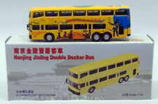 Checkmate 1/76 Scale Model Bus 90124 - Nanjing Jinling Double Decker - Hong Kong