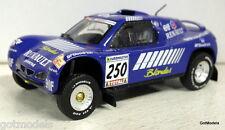 IXO SCALA 1/43 - RENAULT MEGANE Schlesser Modello Diecast Auto Da Rally senza confezione