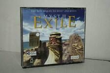MYST III EXILE GIOCO USATO PC CD ROM VERSIONE ITALIANA GD1 51316