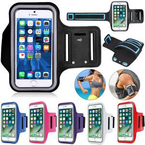 Sports Running Jogging Gym Arm Band Mobile Phone Holder Bag Exercise Case Cover