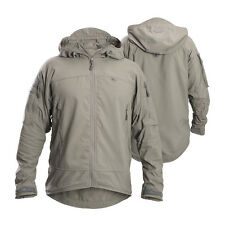 FIRSTSPEAR Manatee Grey Wind Cheater XL X Large Hooded Jacket Soft Shell Breaker