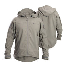 FIRSTSPEAR Manatee Grey Wind Cheater Small S Hooded Jacket Soft Shell Breaker