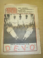 NME 1978 JULY 8 NEIL YOUNG BONEY M DEVO SPRINGSTEEN SEX PISTOLS BOOMTOWN RATS