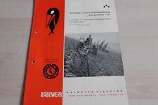 144238) Rabewerk Drehpflug - Goldammer C 3 F - Prospekt 05/1961