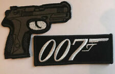 JAMES BOND  007 patch Iron On/ Sew On Patch 🇬🇧 Seller