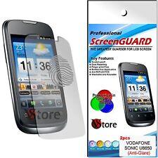 2 Pellicola Opaca Per Vodafone Sonic U8650 Huawei Antiriflesso Antimpronta