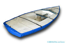 Laser II Sailboat - Boat Hull Cover - Blue Polyester