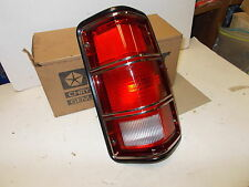 Mopar NOS Tail Lamp Assy. Rt. 81-87 Dodge Trucks
