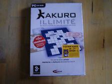 jeux pc cd-rom kakuro illimité