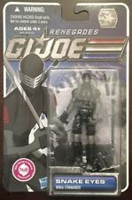"G I Joe Snake Eyes 4"" Action Figure 2011 MOC Hasbro Renegades 30th Pursuit Cobra"