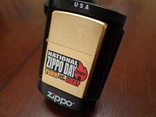 2005 NATIONAL ZIPPO DAY BRADFORD PA ZIPPO LIGHTER MINT LIMITED EDITION