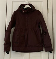 Holden Fawn Womens Purple Hooded Pullover Ski Snowboarding Jacket Size S